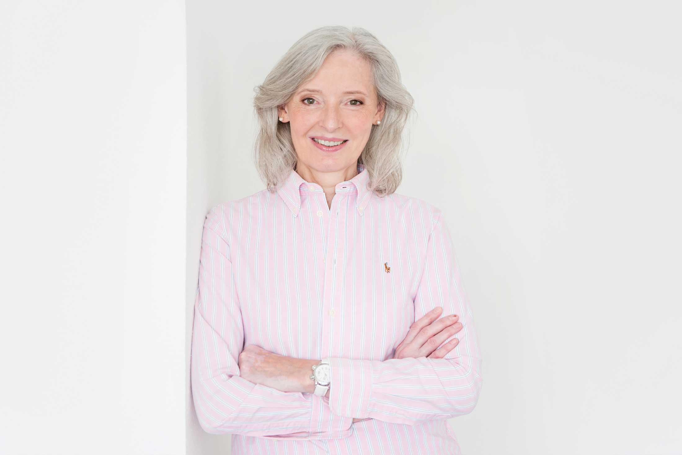 Portrait der Augenärztin Dr. Anneliese Riehl